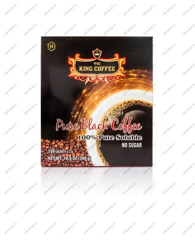 Вьетнамский растворимый кофе TNI King Coffee Pure Black