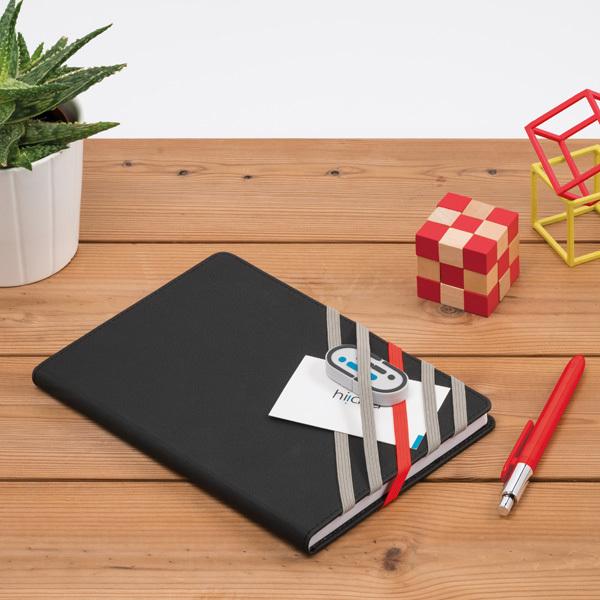 Plot Notebook, orange