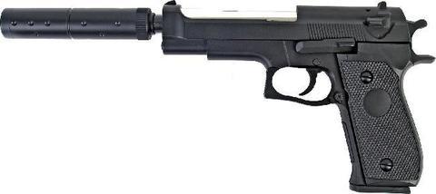 Пистолет пружинный страйкбольный Кольт (М22)