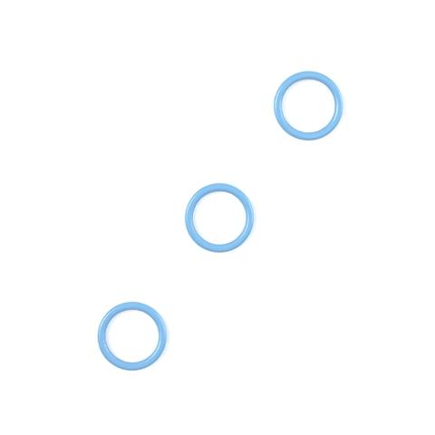 Кольцо для бретели голубое небо 10 мм (цв. 3090)