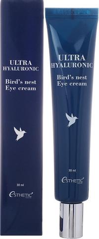 Крем для глаз с экстрактом ласточкиного гнезда Esthetic House Ultra Hyaluronic acid Bird's nest Eye cream, 30 мл