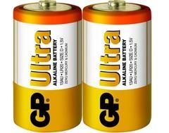 Батарейки GP 13AU-S2 Ultra alkaline LR20, D, трей 2/20/