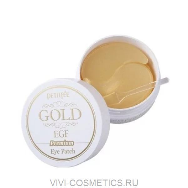 Патчи гидрогелевые | PETITFEE GOLD Premium EGF Eye Patch (175 гр)
