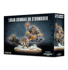 Logan Grimnar on Stormrider