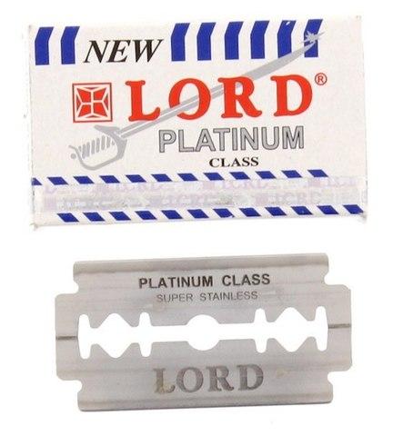 Лезвия для бритья Lord Platinum 5 шт.