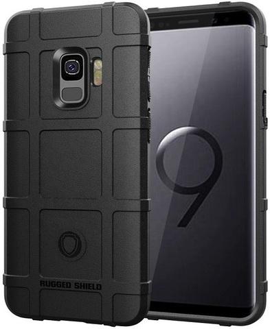 Чехол Samsung Galaxy S9 цвет Black (черный), серия Armor, Caseport