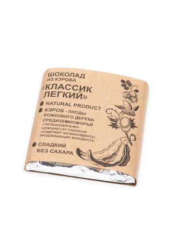 Шоколад из Кэроба Классик Легкий 50г Био Кухня Урожай