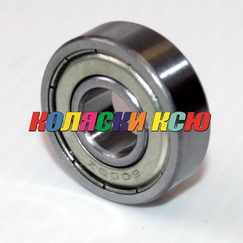 Подшипник 6000zz железная заглушка (вн.диаметр 10мм, наруж диам 26мм) №009005