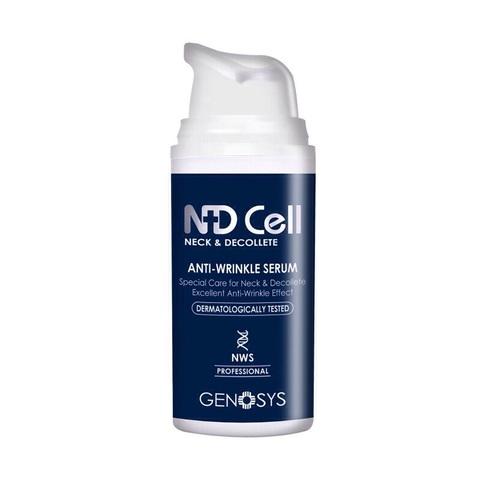 GENOSYS | Антивозрастная сыворотка для шеи и зоны декольте / NDCell Anti-Wrinkle Serum, (30 мл)