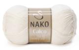 Пряжа Nako Calico молочный 3782