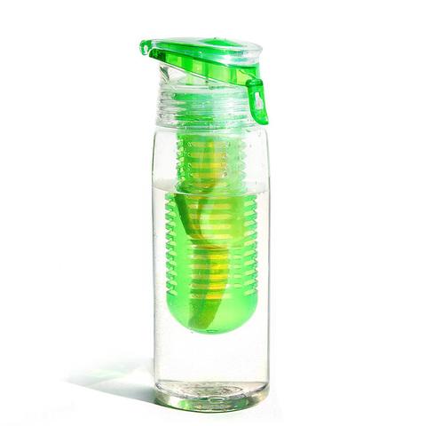 Бутылка Asobu Flavour it 2 go (0,6 литра), зеленая