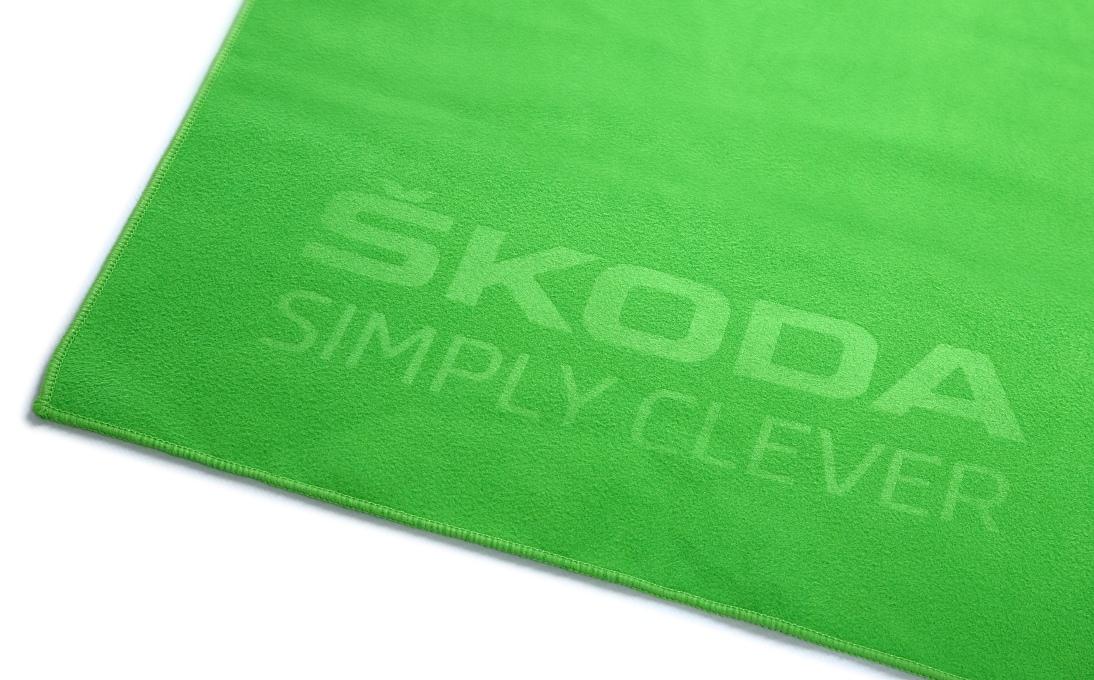 Полотенце Skoda Bath Towel, Size L, Green