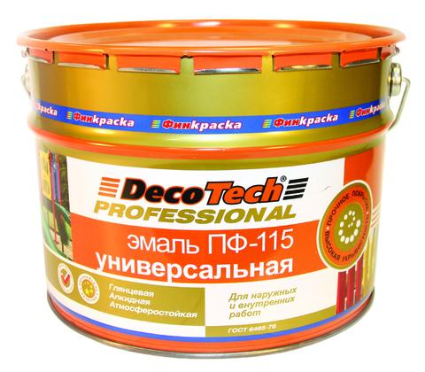 Эмаль «ПФ-115» DecoTech (ДЕКОТЕК)