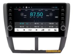 Штатная магнитола для Subaru Impreza 2007-2011 Android 8.1 4/64 IPS DSP модель CB3025T9KR