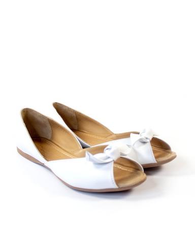 белые балетки Mario Muzi
