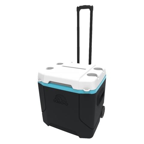 Изотермический контейнер (термобокс) Igloo Profile 54 Roller (51 л.), синий