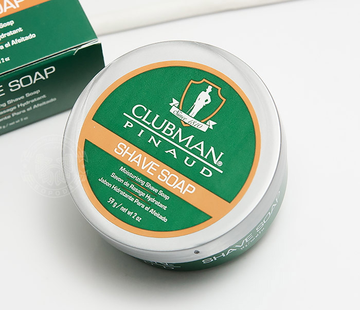 RAZ28005 Натуральное мыло для бритья Clubman Shave Soap (60 гр) фото 03