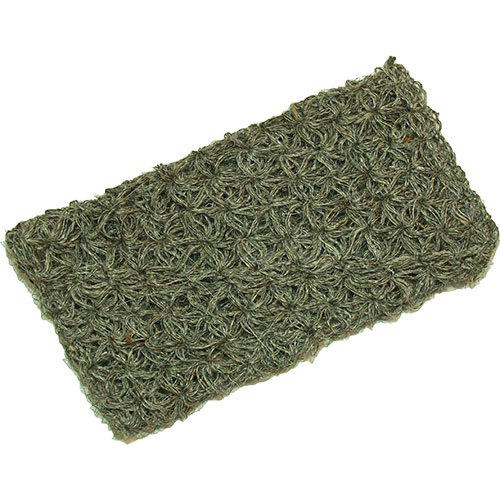 Мочалка-рукавичка из козьей шерсти, средней жесткости