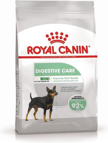 Royal Canin Mini Digestive Care сухой корм для собак мелких пород привередливых в еде 1кг