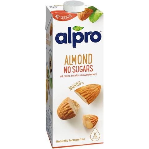 Напиток Миндальный без сахара обогащенный кальцием и витаминами ALPRO 1 л
