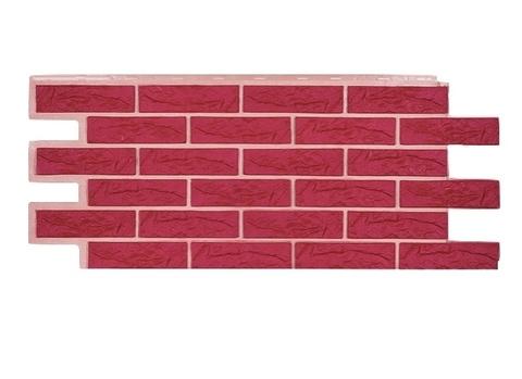 Фасадная панель Лондон Брик - Красный