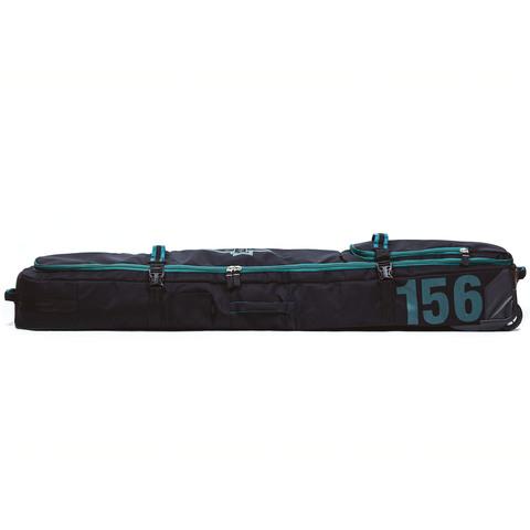 Чехол для сноуборда Born на колесах 156/166 см Черный/зеленый (0099990)