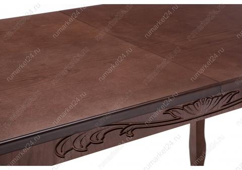 Стол деревянный кухонный, обеденный, для гостиной Мауро орех 84*84*78