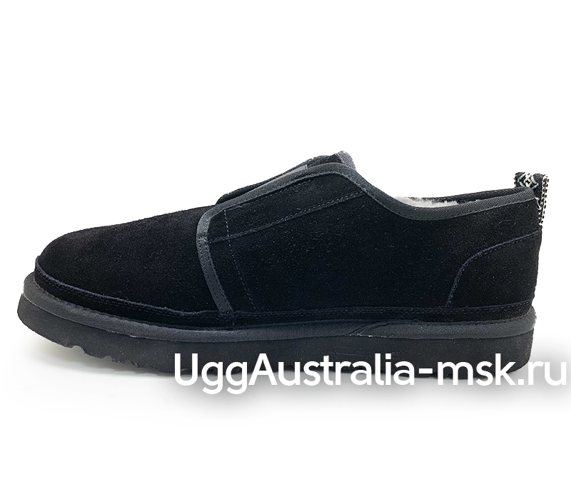 UGG  MENS SLIP ON FLEX MEN BLACK