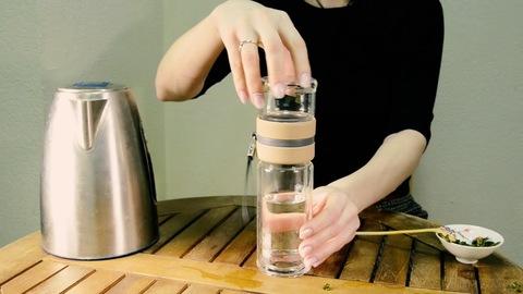 Бутылка для заваривания чая № 3, Чайная посуда