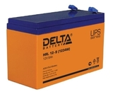 Аккумулятор DELTA HRL 12-9 (1234W) ( 12V 9Ah / 12В 9Ач ) - фотография