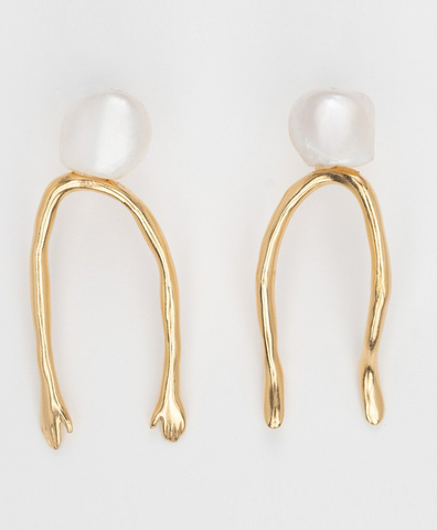 Серьги The Sleepwalker Pearl Studs