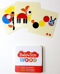 Пазл деревянный с карточками, Десятое Королевство