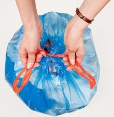 Мешки мусорные с завязками в ассортименте