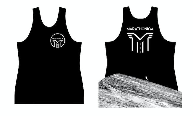 Майка клубная GRi marathonica, черная, женская