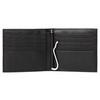 Кошелек Piquadro Modus, черный, 10,2x9,4x1,5 см