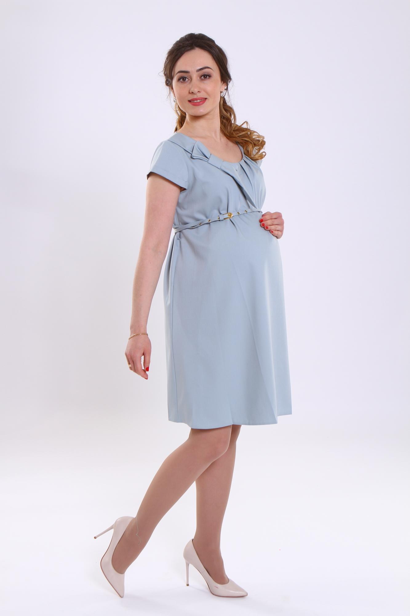 Фото платье для беременных GEMKO от магазина СкороМама, зеленый, размеры.
