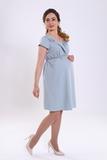 Платье для беременных 05998 зеленый