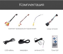 Универсальная магнитола 10 дюймов Android 9.0 4/64GB IPS DSP модель KD 2000 PX5