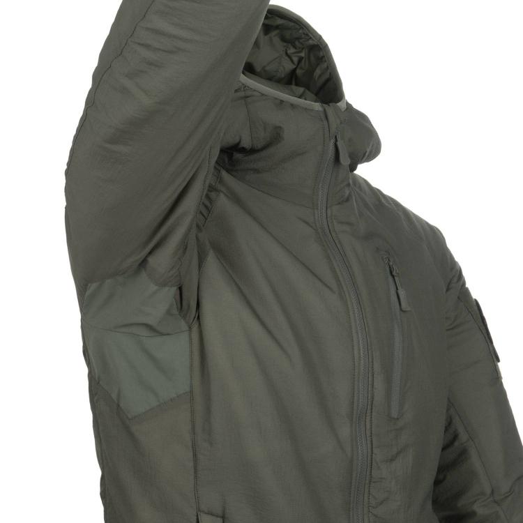 Куртка Helikon WOLFHOUND Hoodie Jacket - Climashiekl Apex 67  - Alpha Green