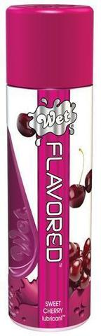Лубрикант Wet Flavored Sweet Cherry с ароматом вишни - 106 мл. - Wet International Inc. Wet Flavored 21506