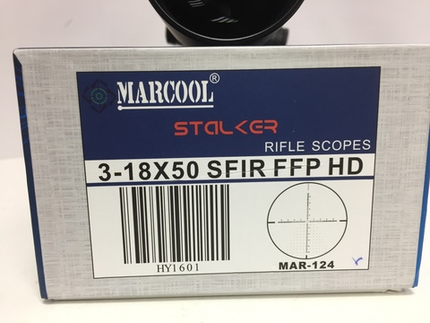 ПРИЦЕЛ MARCOOL STALKER 3-18X50 SFIR FFP (#HY1601)
