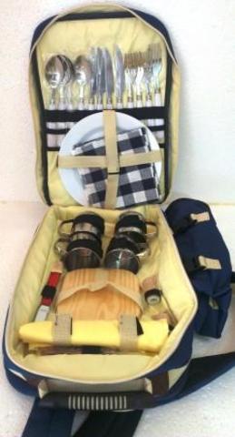 Походный набор посуды - рюкзак на 4 персоны SV-TU-01