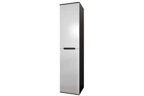 Шкаф одностворчатый Вегас Горизонт венге, белый глянец