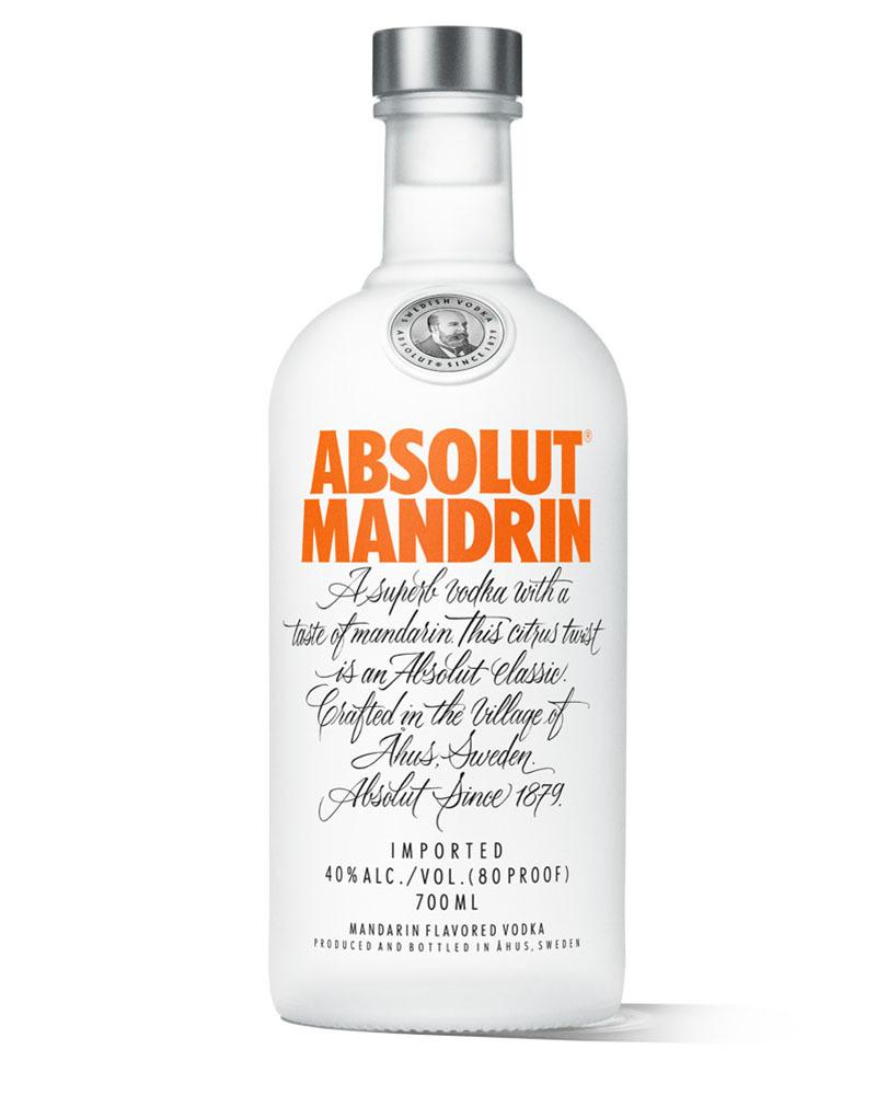 Водка Absolut Mandarin со вкусом мандарина 40%, 0,7 л.