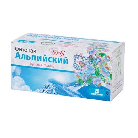 Фито-чай Альпийский, 25 пакетиков