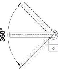 Смеситель Blanco Mila (хром) - схема