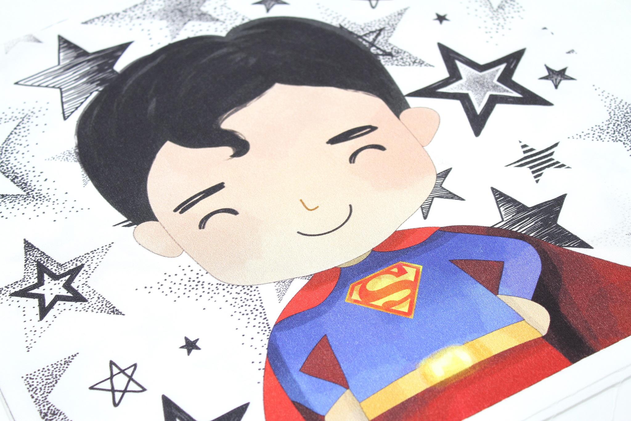 Панель(купон) супермен-35*35 см, 4 шт.