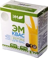 ЭМ-Квас концентрат 40мл + усиленная питательная среда 40мл