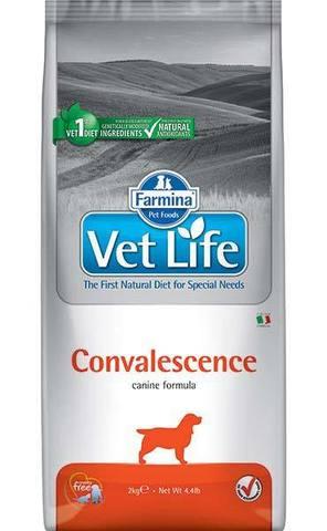 2 кг. FARMINA Vet Life Сухой корм для собак в период выздоровления Convalescence