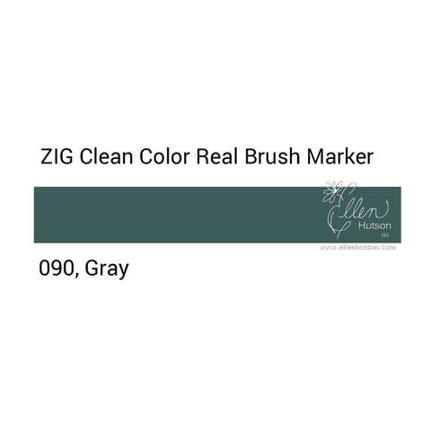 Маркер акварельный ZIG Clean Color Real Brush- штучно - 090
